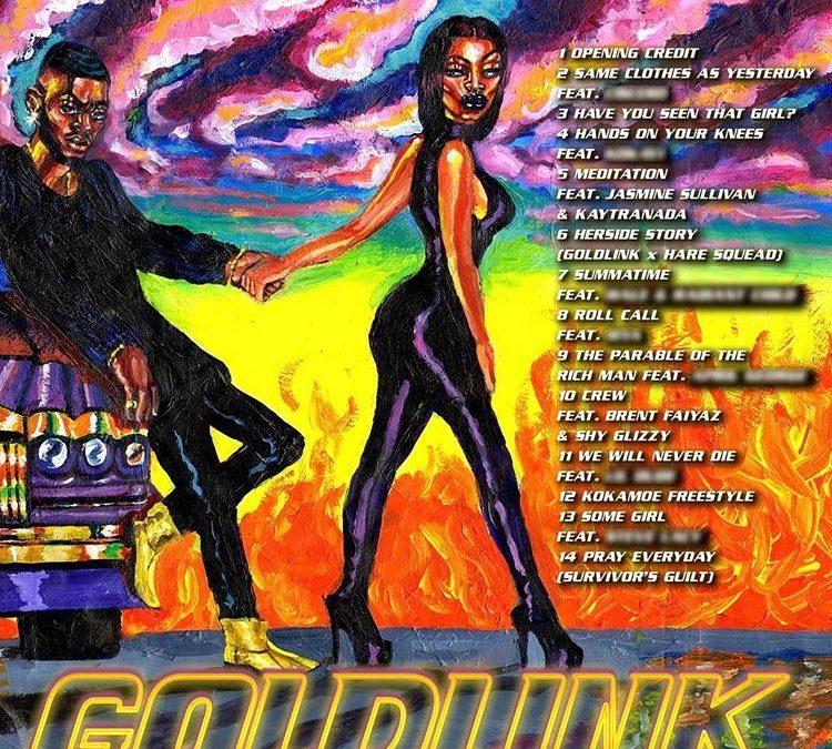 "LISTEN TO GOLDLINK ""WHAT A COST"" ALBUM"