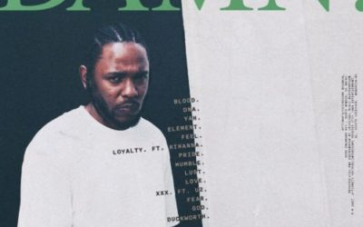"KENDRICK LAMAR SEASON IS OFFICIALLY HERE STREAM ""DAMN"" ALBUM"
