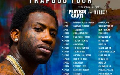 GUCCI MANE TRAPGOD TOUR WITH PLAYBOI CARTI & DREEZY