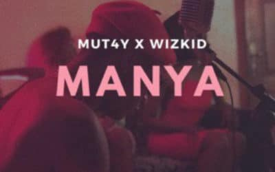 Wiz kid X Mut4y Collab on a track called Manya