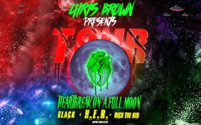 Chris Brown & The Heartbreak On A Full Moon Tour With Rich The Kid, 6lack and HER
