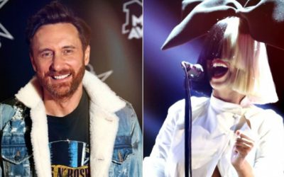 """David Guetta & Sia Link Up on New Music """"Flames"""""""