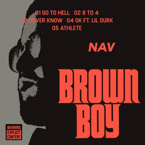 Nav Drops Brown Boy 4 Track EP