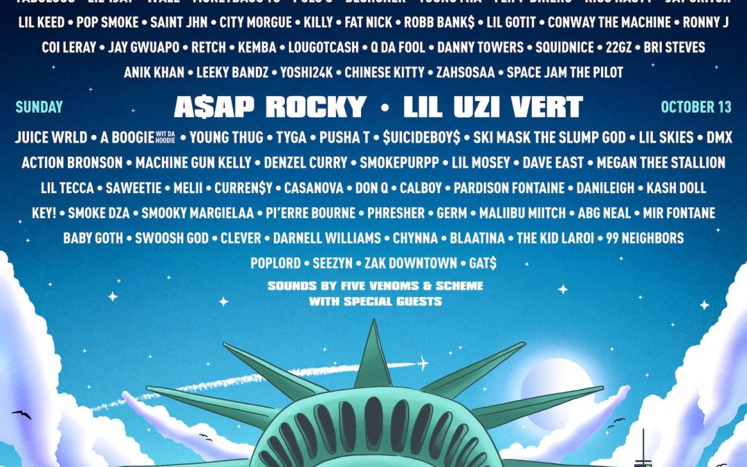 A$AP Rocky, Travis Scott Playboi Carti, Blueface, Megan Thee Stallion Rolling Loud Comes To New York