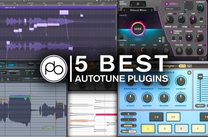 Best Autotune Plugins For Producers & Artists