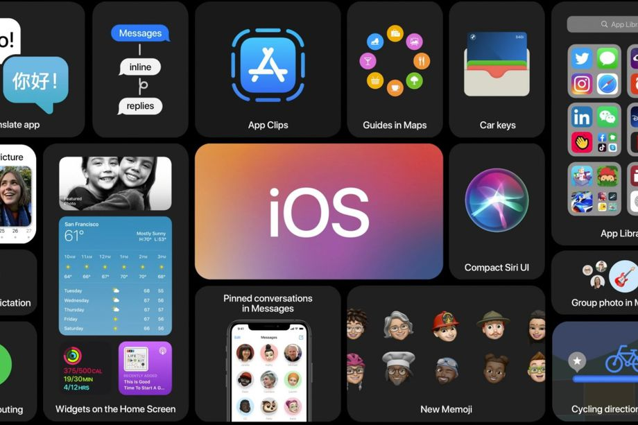 APPLE REVEALS IOS 14 INCLUDES WIDGETS ON HOME SCREEN