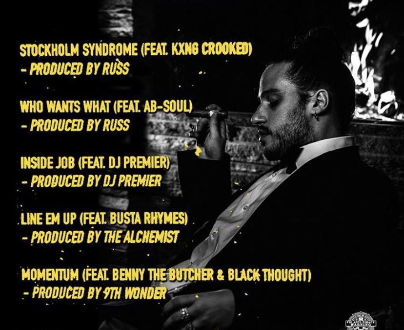 🎵 Russ Chomp 5 Track EP Featuring Busta Rhymes Ab Soul Black Thought & Benny The Butcher Produced by Alchemist, DJ Premier & Russ Himself